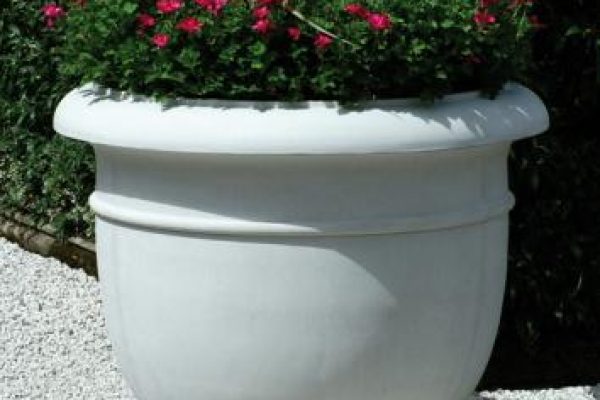 Outdoor Cast Stone Planter