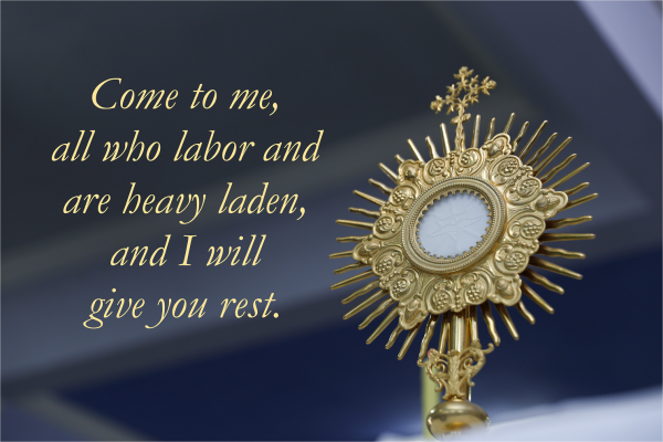Special Eucharistic Holy Hour