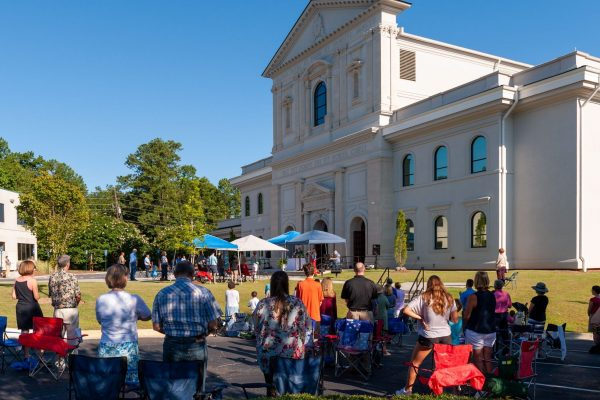 Outdoor Mass Moves to 11AM